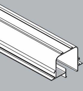 Perfil Embutir Linear Linha Tecno 93x500mm Usina 3000050
