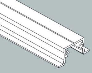 Perfil Embutir Linear Garbo 34x2250x17mm Usina 30030225
