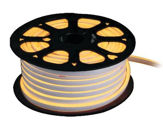 Fita Led Neon Flex Ligth 12v 7,4w/m 500Lm IP67 1MT 12x6mm 3000K Cor Branco Quente Alpertone 1483