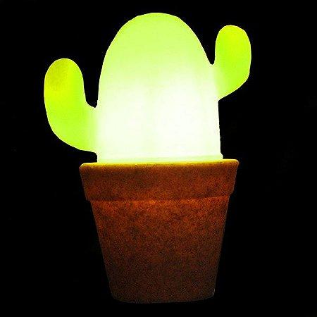 Luminária de Mesa Cactus Cor Verde Usare 1034
