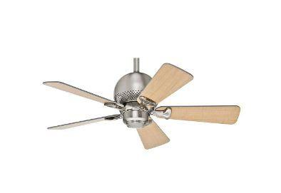 Ventilador de Teto Hunter Fan Orbit Níquel 5 pás sem luminária 220V Hunter Fan 50821