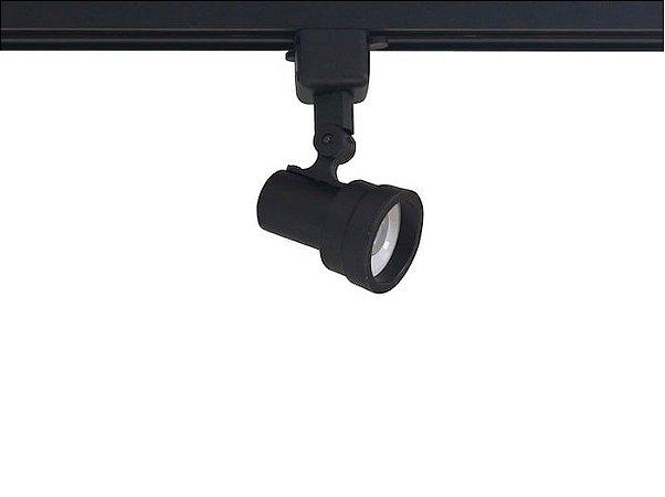 Spot Style com Plug Altrac para Trilho Eletrificado GU-10 Preto Fosco Altena ALT07016 PF