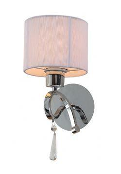 Arandela Veneza Branco para 1 Lâmpada 32,6 X L20  Arquitetizze AR2003-1.000