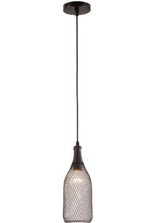 Pendente Corona 1 Lâmpada Bocal E27 D11,5 X A32cm Arquitetizze PD7604-1.000