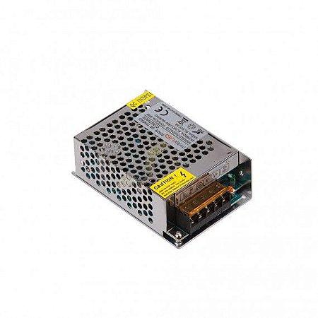 Fonte de Tensão Constante Retangular 30A 360W 12VDC 215x113x49mm Misterled SLED5145