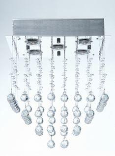 Plafon Orion para 5 Lâmpadas tipo GU10 A47 X L40 Arquitetizze PL6004-5.000