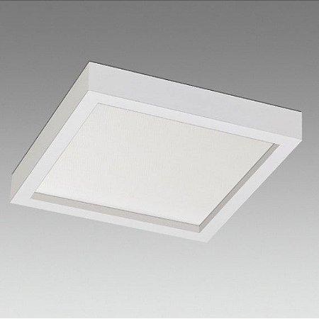 Painel Sobrepor Quadrado Linha Siena 15W 1650Lm 150mmx150mm Branco Misterled SLED8829