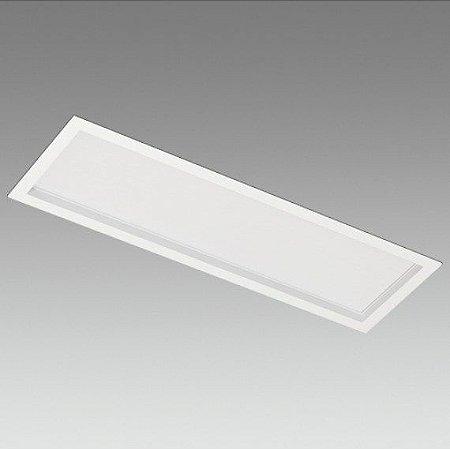 Painel Embutir Retangular Teto Linha Gran Toscana 24 W 2200 Lm 600mmx200mm Branco Misterled SLED8821