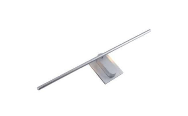 Arandela Stick Metal e Aluminío Branco Texturizado, Acrílico Mais Luz AR-093/12.27BF