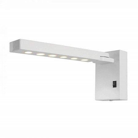 Arandela LED Metal 6W 3000K Quente 10x6x28cm Cor Branco Bella Iluminação SE398WB