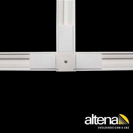 """Conexão em """"T"""" Branco Altena TRA00006 BR"""