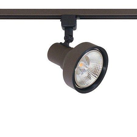 Spot Style com Plug Altrac para Trilho Eletrificado AR-111 GU-10 Marrom Café Altena ALT07011 MC