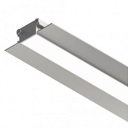 Perfil Embutir Sistema de Iluminação Linear K25 1350LM Misterled SLED 9043