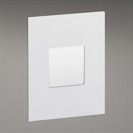 Balizador para Caixa de Luz Linha Montenero Quadrato  4x2 116mmx88mm 96Lm Difusor Vertical Misterled SLED6067DV