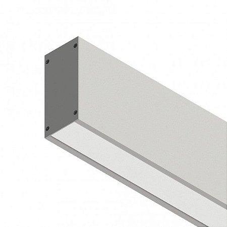 Perfil Sobrepor com Facho Simples Linear W96 14,4W 12 VDC 1350Lm IP20 Misterled SLED9006
