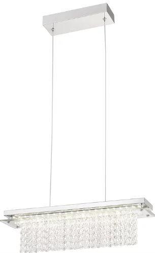 Pendente Versalhes Metal 50x12x12cm LED 18W 4000K Cor Cobre Casual Light QPD888