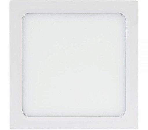 Painel Sobrepor Quadrado 22,5x22,5cm 22,5x22,5cm  18W 4000k Bivolt Brilia 438343