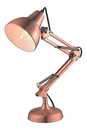 Luminária Nexus Metal 13,5x53cm 1xE27 40W Cor Cobre Casual Light LM1060-CO