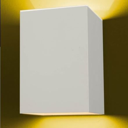 Arandela Flash Luz para Cima e para Baixo 1xG9 11,5x11,5cm Ideal 905