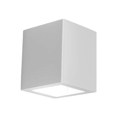 Arandela Quadrada Externas LED 6W 2700K 220V 9x13x10cm Cor Fendi Newline 9586LED2FD
