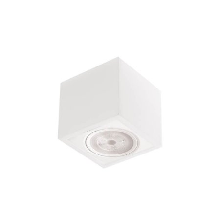 Plafon Box Led 3W 3000K 225LM 9x9x7cm 127/220V Branco Total Newline 560BT
