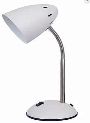 Luminária De Mesa Beak Metal Branco 1xE27 40W 20x14,5X30cm Quality QLM1162-BR