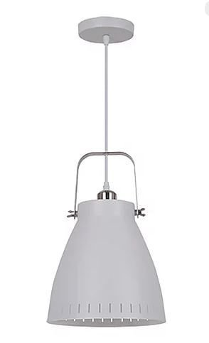 Pendente Bergen Metal Branco 1xE27 40W 17x18cm Quality QPD1158-BR