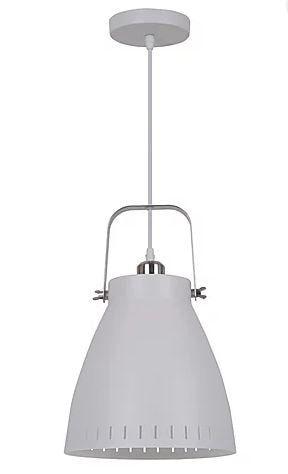 Pendente Bergen Metal Branco 1xE27 40W 26,5x27cm Quality QPD1159-BR