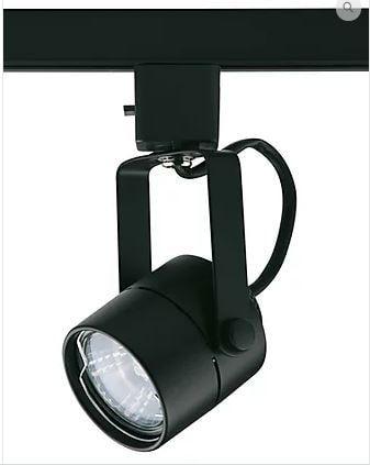 Spot para Trilhos Calgary 5,8x15,8cm 1XGU10 40W Cor Preto Casual Light QSP902-PT
