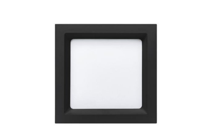 Painel Embutir Recuado Quadrado 16,7x16,7cm 12W  800lm 4000K 120° Deep Stella STH8902PTO/40