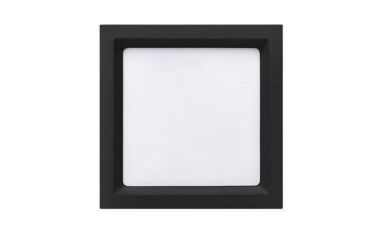 Painel Embutir Recuado Quadrado 20,2x20,2cm 18W 3000K 1200lm 120° Deep Stella STH8903PTO/30