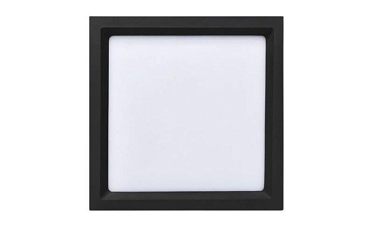 Painel Embutir Recuado Quadrado 26,2x26,2cm 24W 3000K 1500lm Bivolt 120° Deep Stella STH8904PTO/30