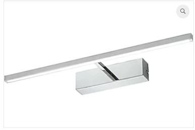Arandela Roof  Alumínio 4,5x45,2x12,5cm Led 8W 3000K Bivolt Cor Cromado Casual Light AR803