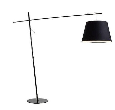 Luminária de Chão Compasso Preta E27 40W 127v/220v 200x190x56cm Klaxon 3100111
