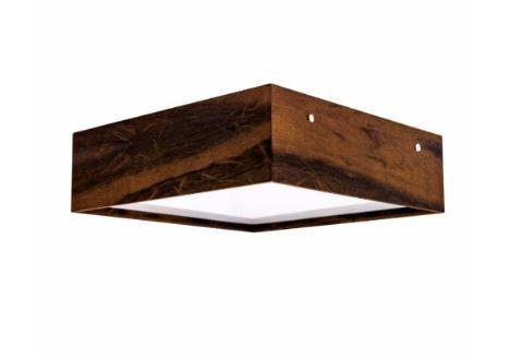 Plafon Clean Madeira 30x30x12cm Cor 06 Imbuia Accord 573