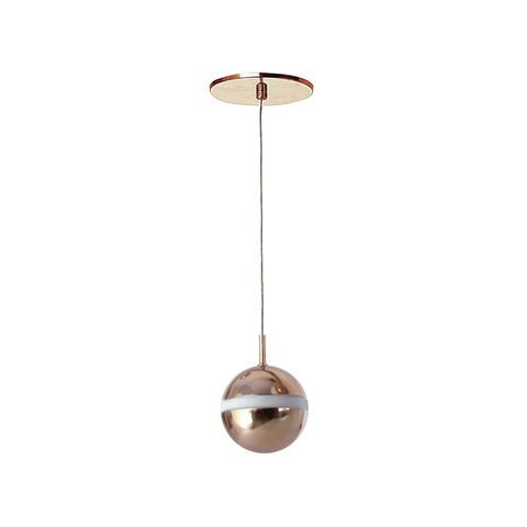 Pendente Ball com Globo Ø10cm 10x16cm 1xG9 Old Artisan PD-5421