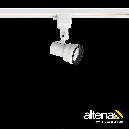 Spot Style com Plug Altrac para Trilho Eletrificado GU-10 Branco Fosco Altena ALT07016 BF