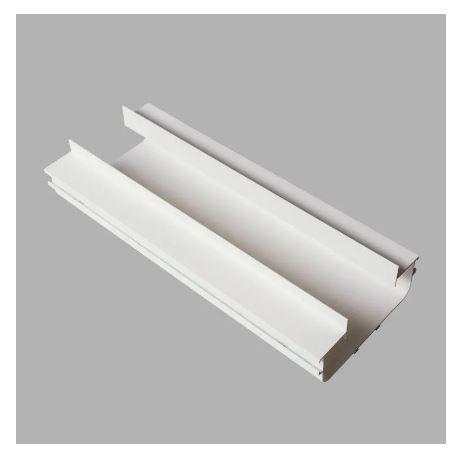 Perfil Embutir Linear Duplo No Frame Linha Infinity 123x1000x55mm Usina 30010/100