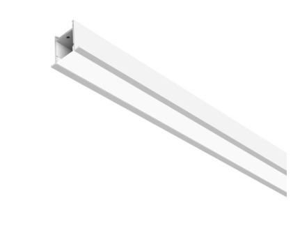 Perfil de Embutir FIT 25 LED  12,6W 4000K 127/220V 103x4x5cm Branco Total Newline SL0124LED4BT