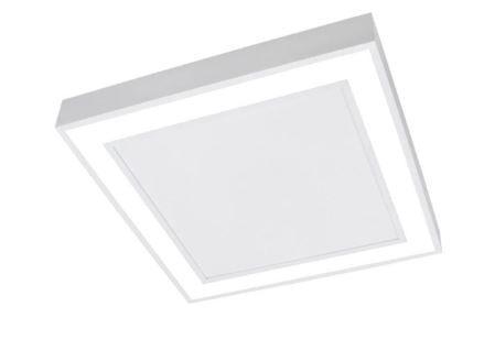 Plafon Fit Edge 25,2w 3000k 127/220v 30x30x4cm Newline Branco Total PL0122LED3BT