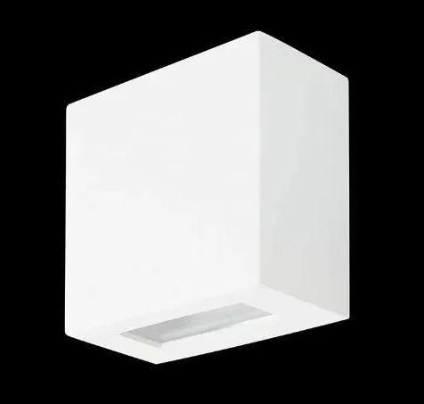 Arandela 1 Facho Alumínio Vidro Transparente (VD) 1 x G9 LED Cápsula Itamonte Nac 233/1