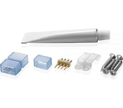 Kit Emenda para Fitas LED de AltaTensão 4,4W/m Brilia 433232