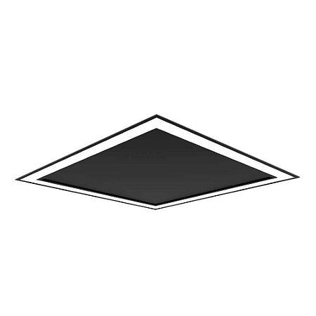Embutido Fit Edge 33,6W 4000K 127/220V 42x42x4cm Newline EM0123LED4