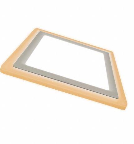 Painel Embutir Quadrado  24,5X24,5cm 18W+6W Dual Core Taschibra 7897079080322