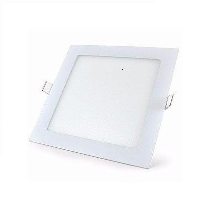 Painel Embutir Quadrado Lux 6W  6500K 18x120x120mm Taschibra 7897079081183