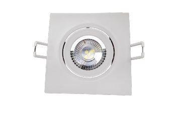 Spot LED Quadrado Modelo Supimpa 3W AM3000K 70x70mm Branco Avant 865440577