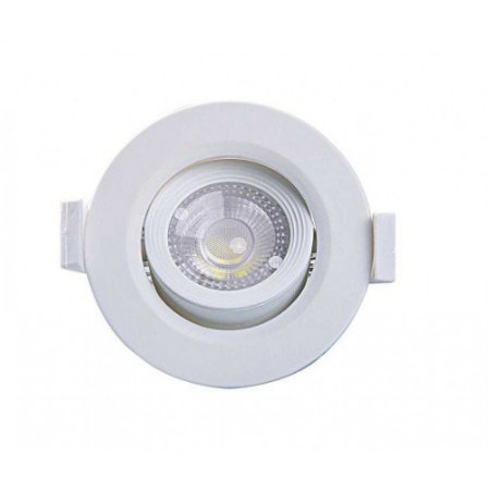 Spot Embutir Redondo Alltop LED MR16 5W 6500K 90x90x45mm Taschibra 7897079083651