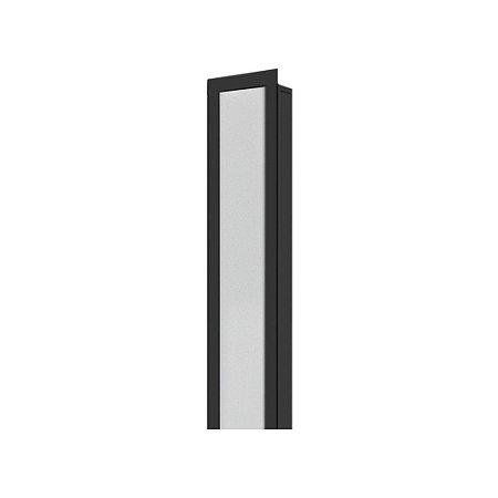 Perfil Embutir LLS Flex II 2MT com Placa Led 50W 3000K 120º Bivolt 2000lm  2000x35x17,5mm Preto Saveenergy SE-255.1821
