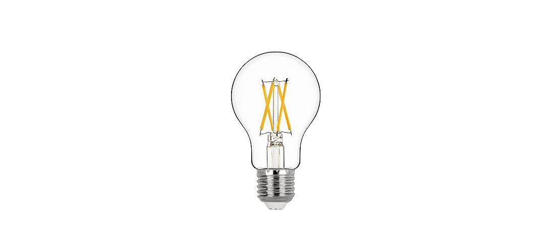 Lâmpada Bulbo Filamento 4,7W 560lm 2700K E27 320° Bivolt Stella STH20211/27