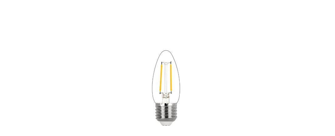 Lâmpada Vela Lisa Filamento 2,5W 200lm 2700K E27 320° BIvolt Stella STH20300/27
